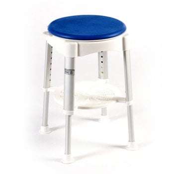 Able2 Round shower stool with rotating seat