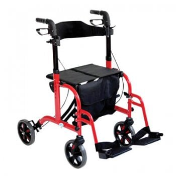 Aidapt Rollator and Transit Chair in One