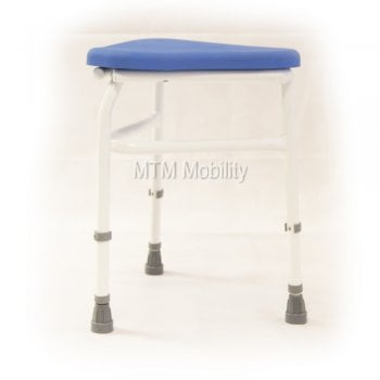 Drive Medical Belmont Corner Stool with PU Seat