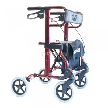 Drive Medical Diamond Folding Four Wheel Rollator