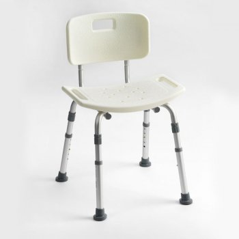 Drive Medical Height adjustable aluminium shower chair