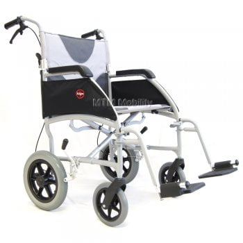 Drive Medical Large ultra light transit wheelchair