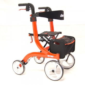 Drive Medical Nitro Folding Aluminium Rollator