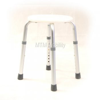 Drive Medical Round Shower Stool white