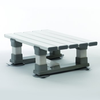 Drive Medical Slatted Grey Bath Seat