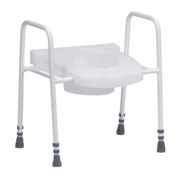 Drive Medical Stamford Adjustable Raised Toilet Aid