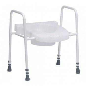 Drive Medical Stamford Adjustable Raised Toilet Aid