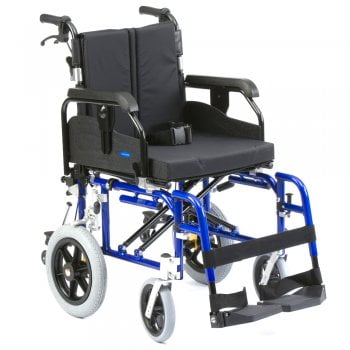 Drive Medical Super Deluxe heavy duty aluminium transit wheelchair