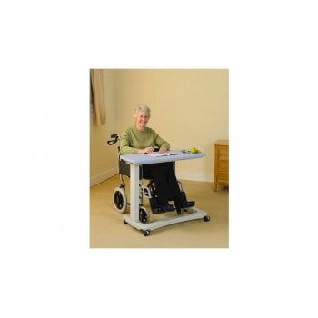 NRS Easy Lift Overbed Table with Castors